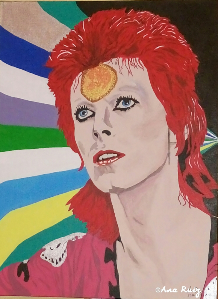 David Bowie by 12197711